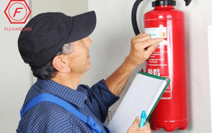 Revisión de extintores normalidad