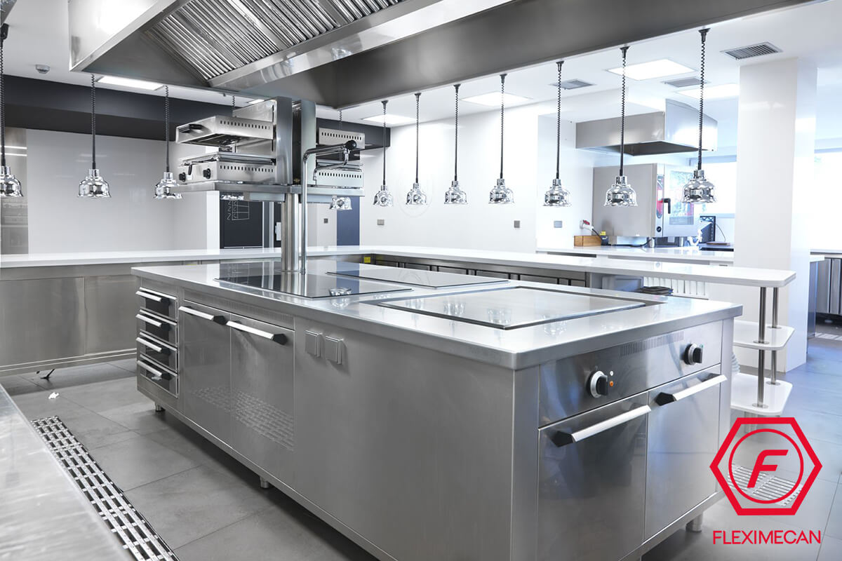Partes sistema detección y extinción de cocinas